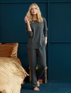 8652 Penye Mood Pijama Takım