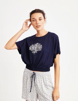 8924 Penye Mood Pijama Takımı