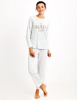 8949 Penye Mood Pijama Takımı
