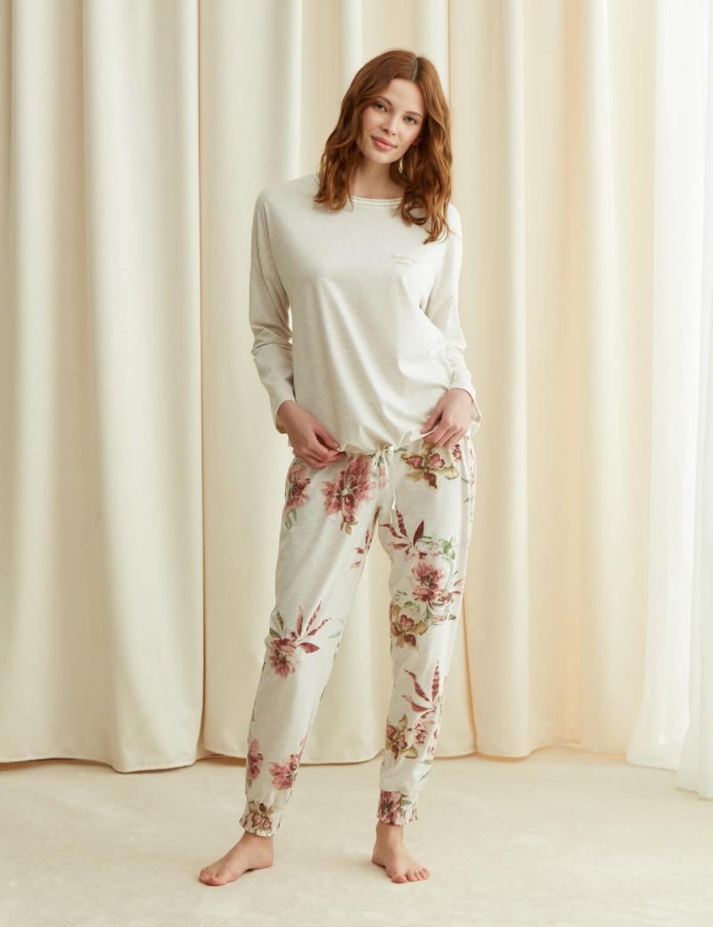 8905 Penye Mood Pijama Takımı